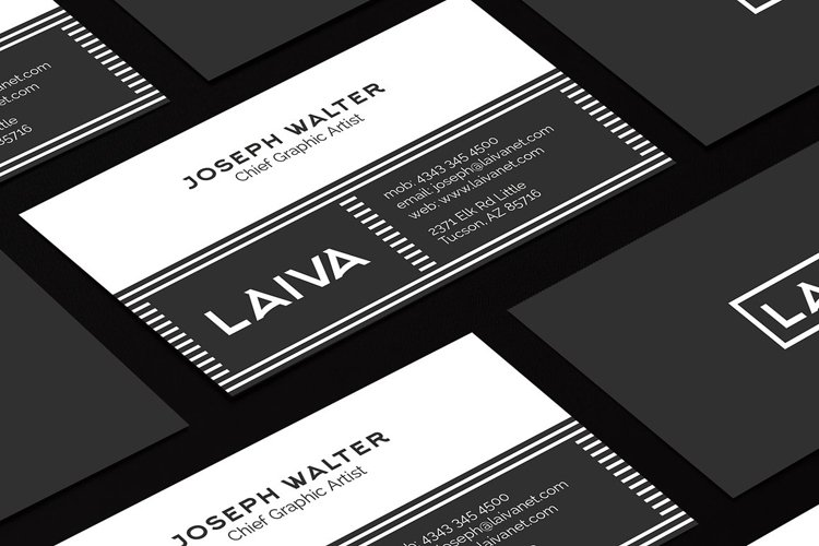 Modern Business Card 2 example image 1