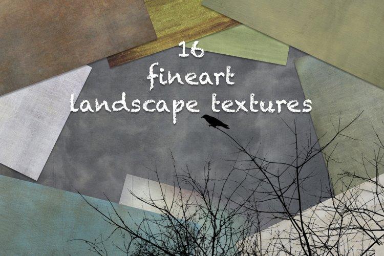 16 Fine art Landscape format textures example image 1