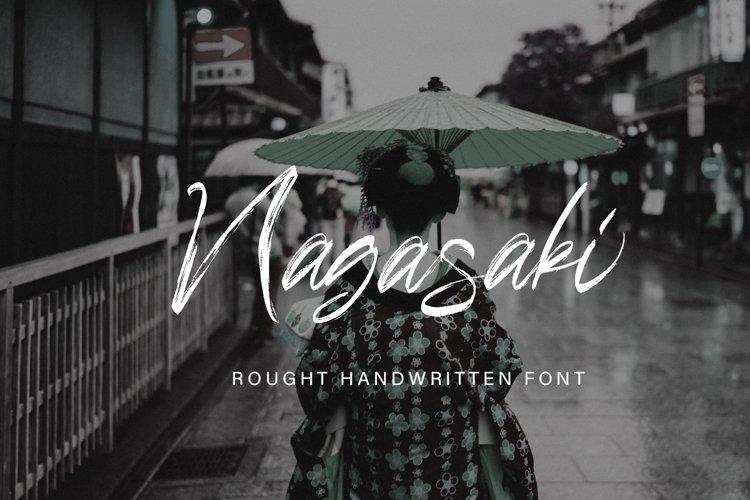 Nagasaki Brush Font example image 1