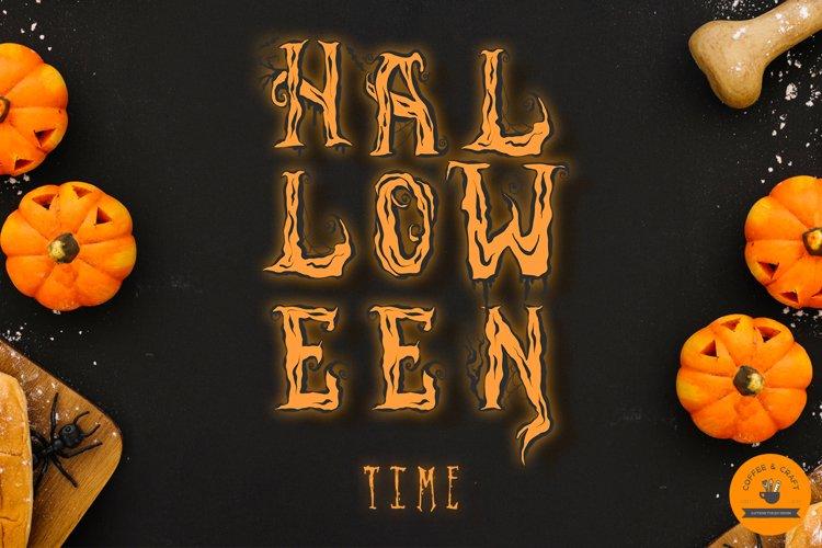 Halloween Alphabet - Free Design of The Week Design1