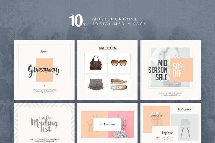 Multipurpose - Social Media Pack example image 1