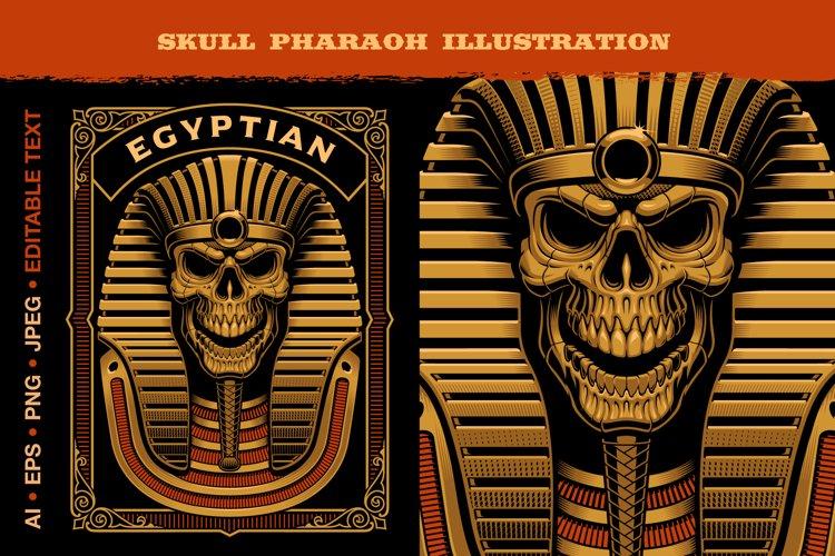 Egyptian Pharaohs Skeleton