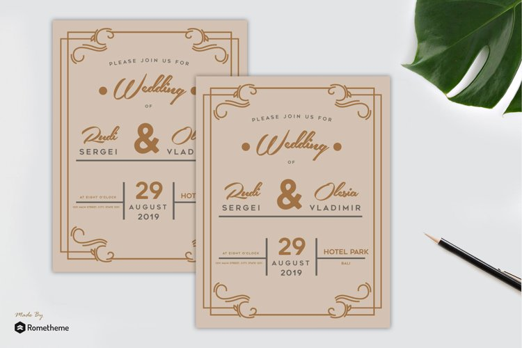 Wedding Invitation vol. 02 example image 1