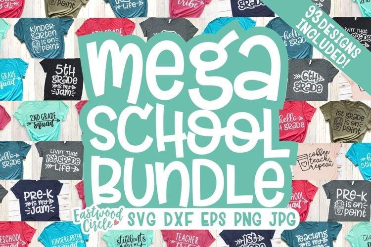 MEGA School SVG Bundle - Back to School Cut Files example image 1