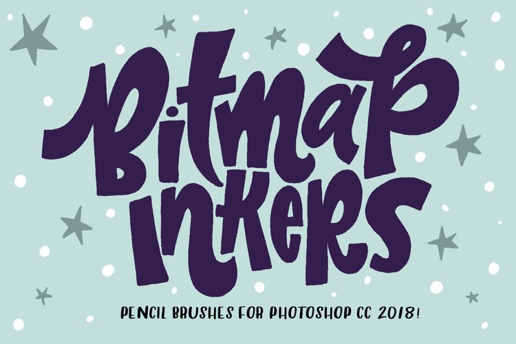 Bitmap Inkers for PHOTOSHOP CC2018 example image 1
