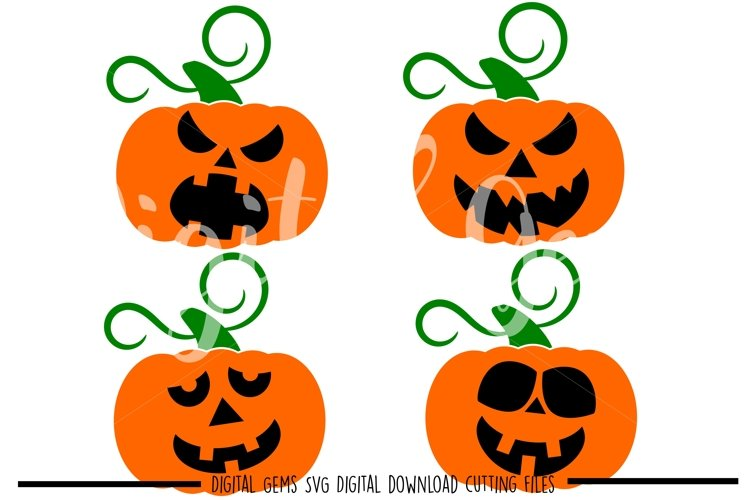 Pumpkin SVG / PNG / EPS / DXF files example image 1