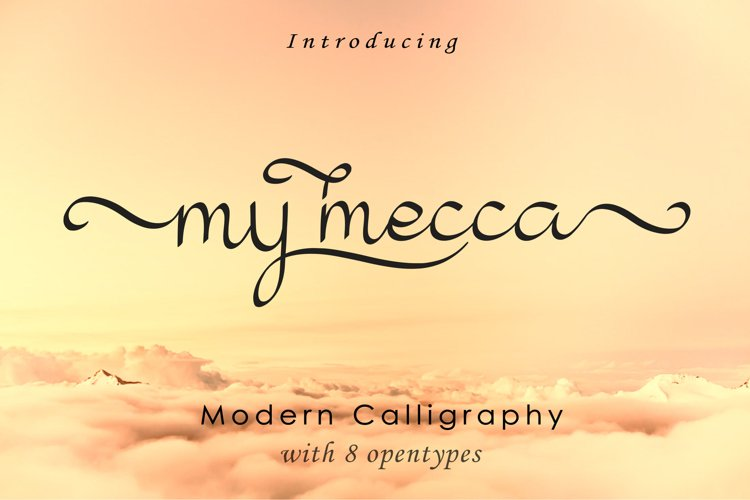 My Mecca | Modern Calligraphy example image 1