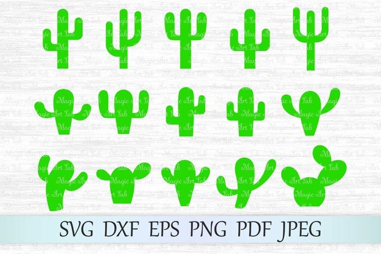 Cacti svg files, Cactus svg, Cactus cut file, Cactus cricut example image 1