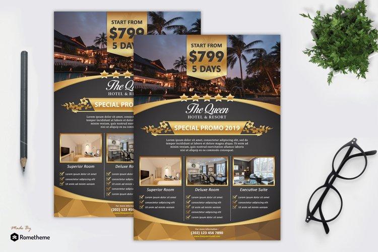Hotel & Resort Flyer vol. 01 example image 1