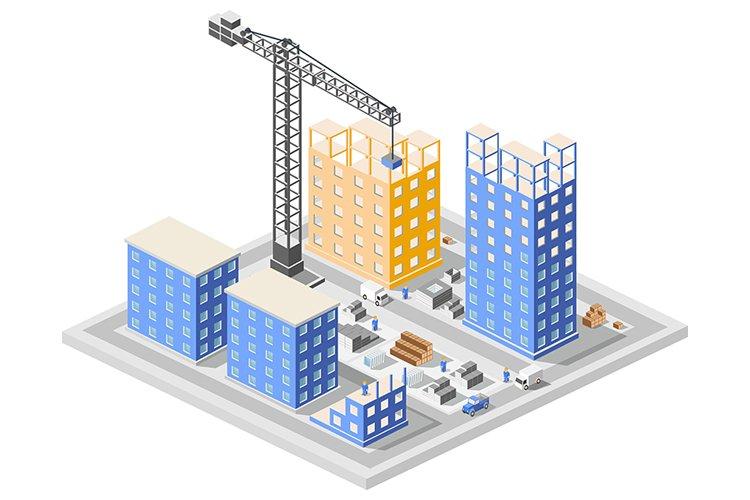 Industrial construction isometrics example image 1