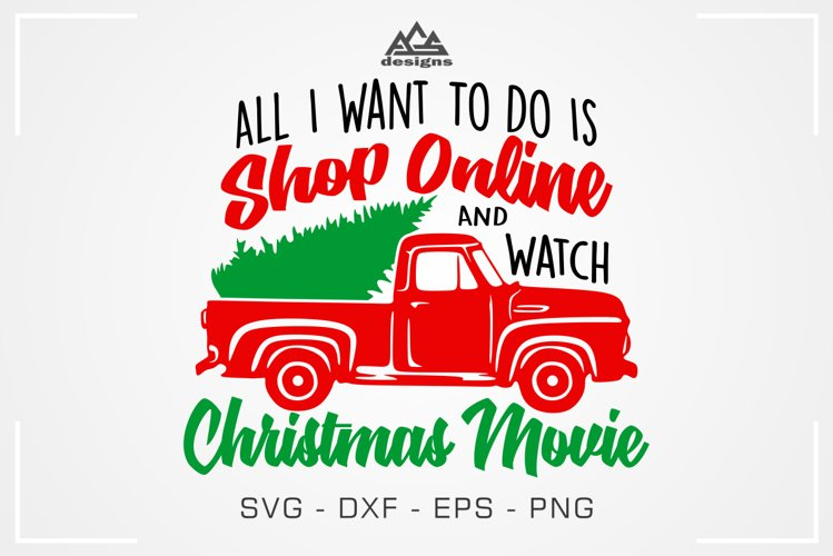 Shop Online and Watch Christmas Movie Svg Design
