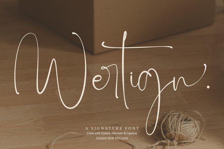 Wertign example image 1