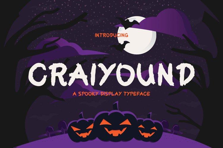 Craiyound Brush Font example image 1