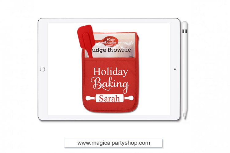 Holiday Baking Christmas Svg Cut File example image 1