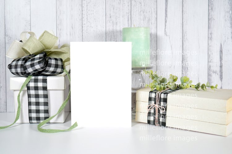 Farmhouse Greeting Card & Gift Craft Mockup Styled Photo