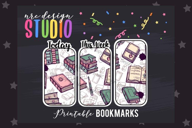 Book Lover Bookmark, Planner Printable