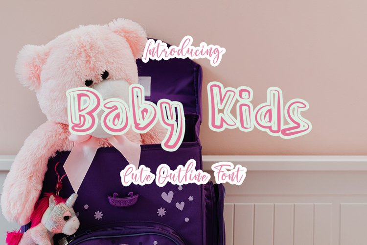 Baby Kids| Display Typeface Font example image 1