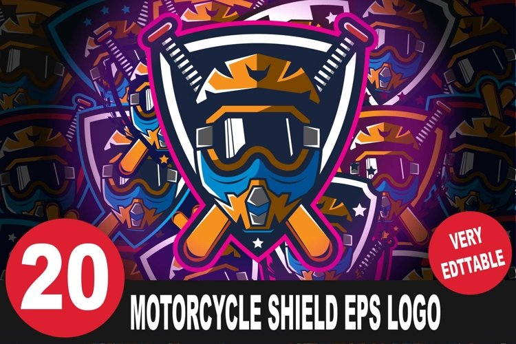 Motorcycle Logo Bundle example image 1