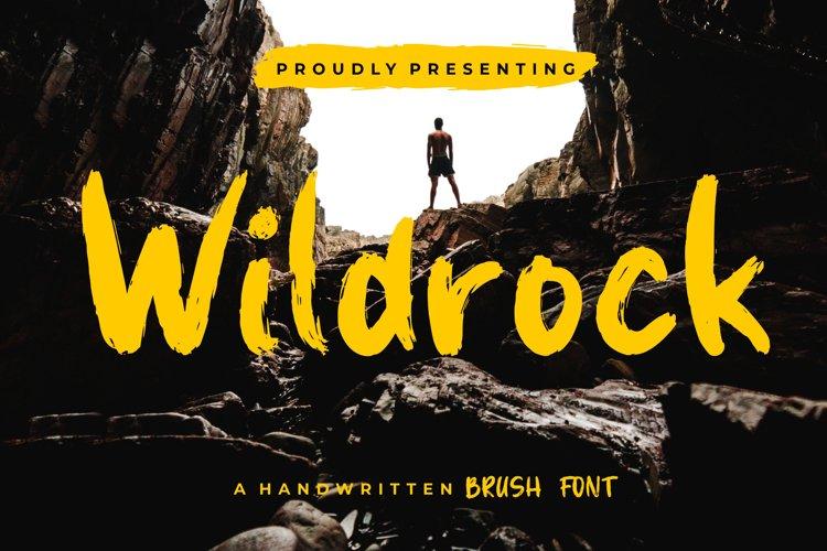 Wildrock Handwritten Brush example image 1