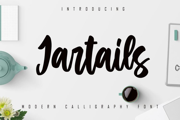 Jartails - Modern Calligraphy Font example image 1