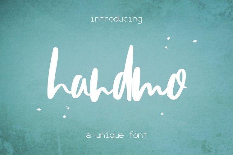 Handmo Font