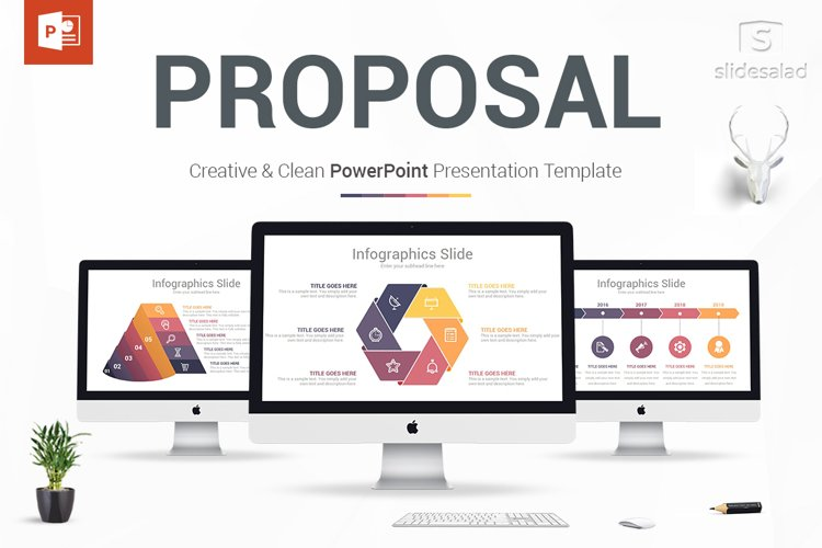 Best Business Proposal PowerPoint Templates example image 1