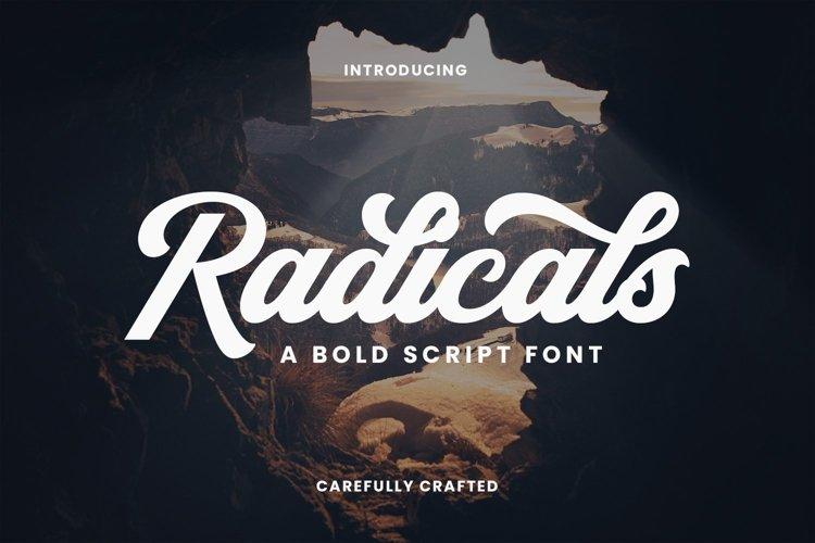 Web Font Radicals example image 1