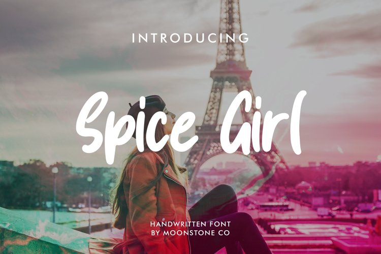Spice Girl Handwritten Font example image 1