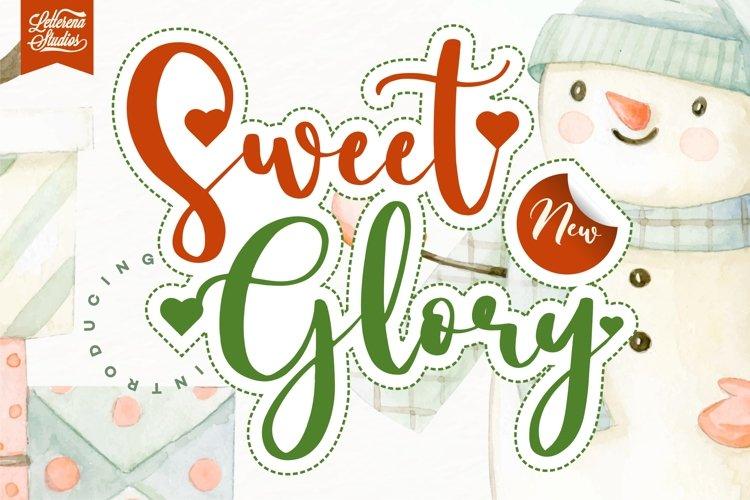 Sweet Glory - Beautiful ScriptFont example image 1