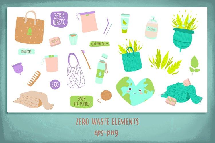 Zero Waste Illustrations