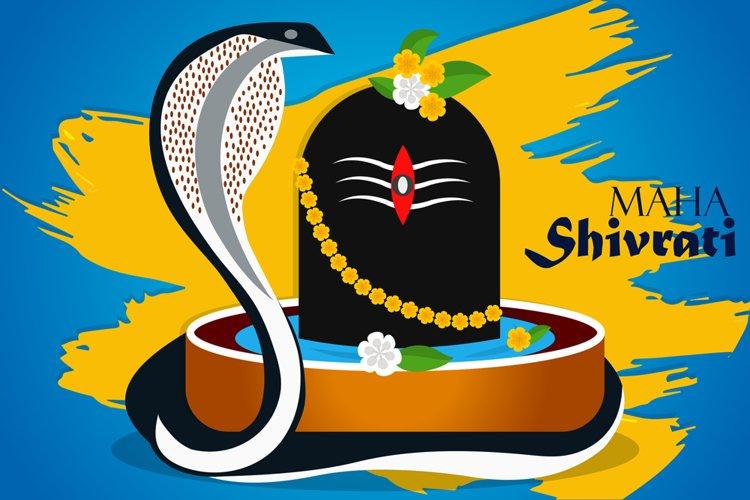 Shiving Lingam Snake Illustration example image 1