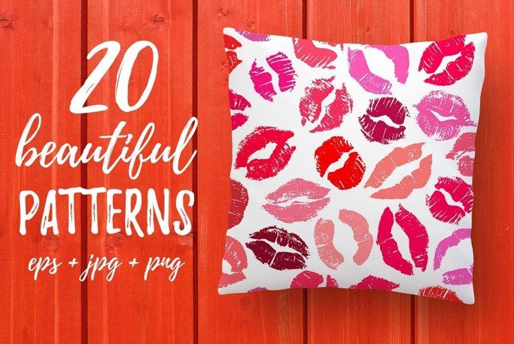 20 Lipstick Patterns