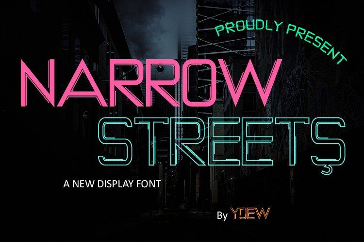 NARROW STREETS example image 1