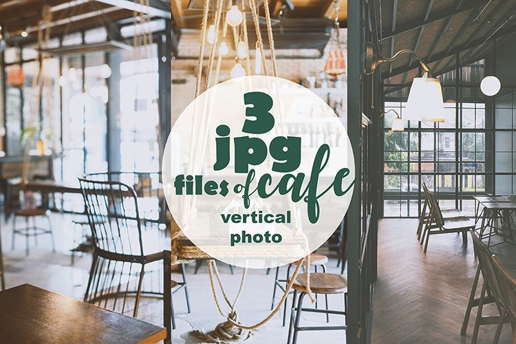 3 vertical photo backgrounds cafe restaurant example image 1