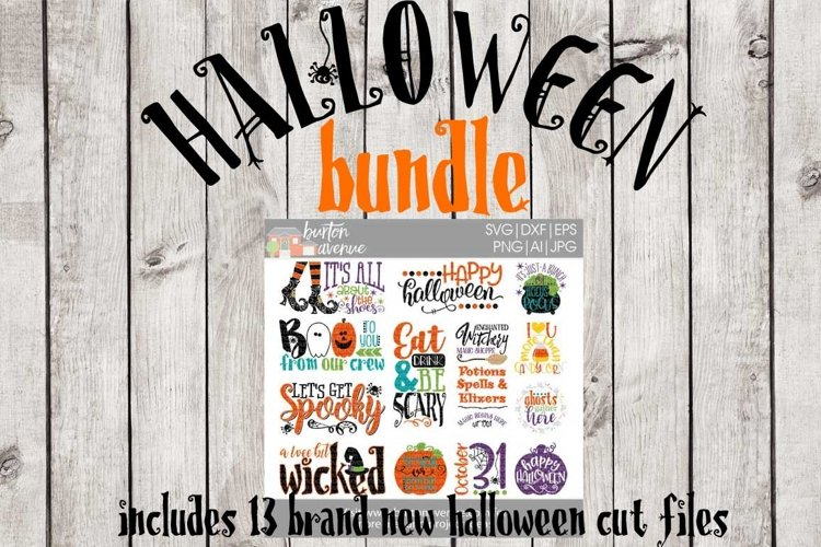 Halloween SVG Bundle-cut files for Cricut, Silhouette example image 1