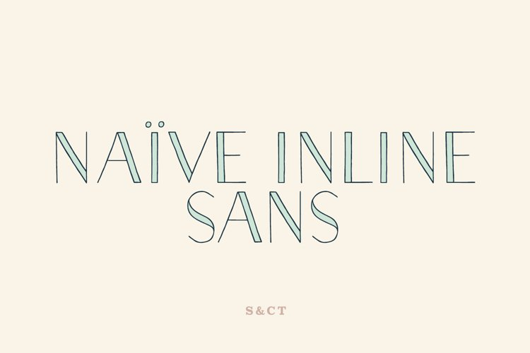 Naive Inline Sans Family
