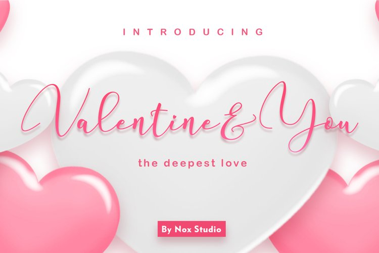 Valentine & You example image 1