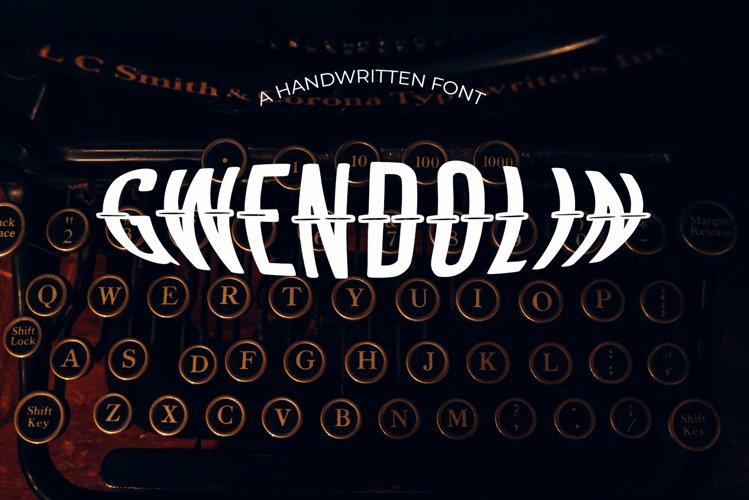 Gwendolin Vintage Font example image 1