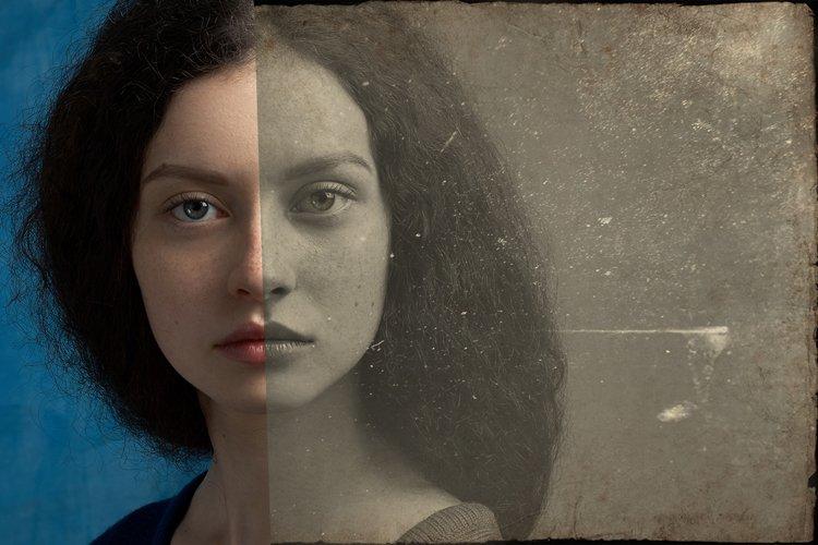 Vintage Old Photo Effect Overlays - Free Design of The Week Design4