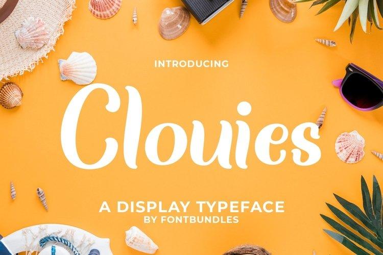 Web Font Clouies example image 1
