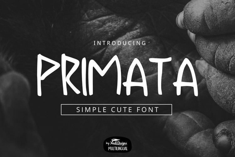 Primata Font example image 1