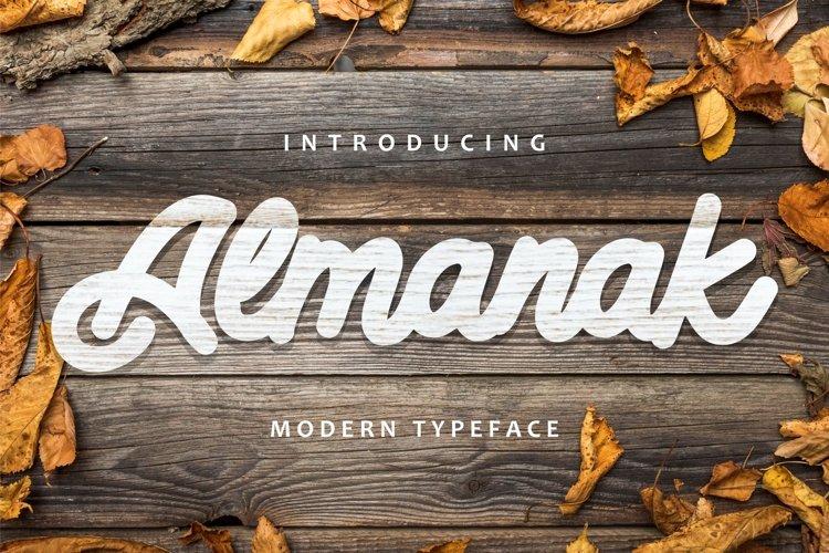 Almanak - Modern Typeface example image 1