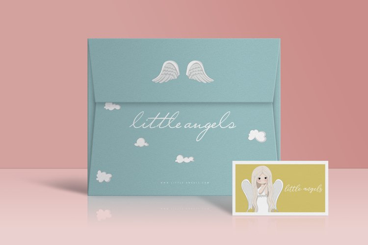 Little angels clipart - Free Design of The Week Design4