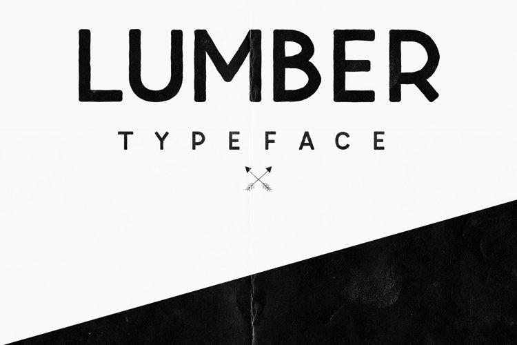 Lumber Typeface