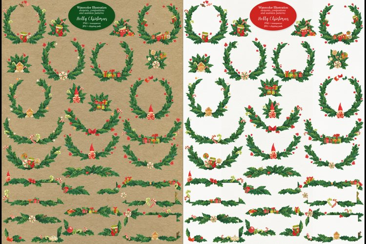 Holly Christmas example image 1