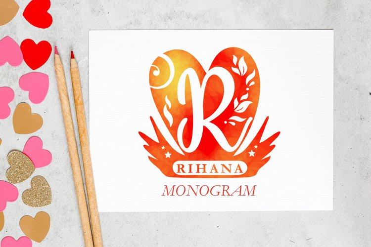Rihana Monogram