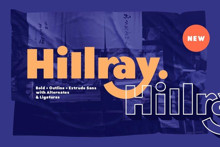 Hillray - Stylish Bold Sans example image 1
