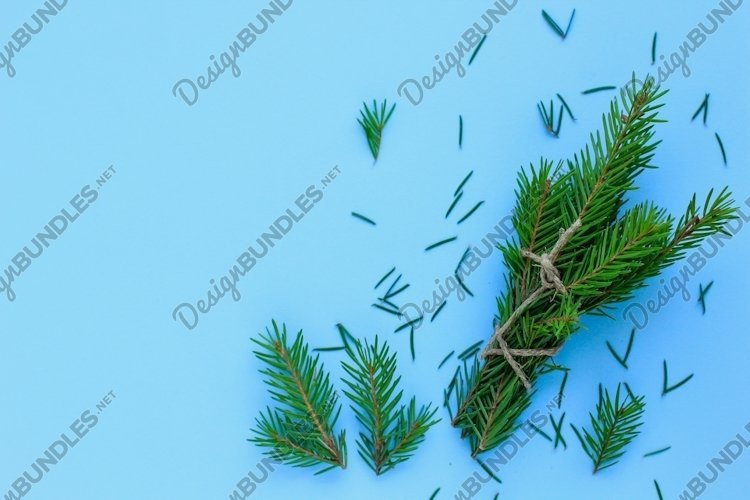 Christmas, new year minimal background, concept.