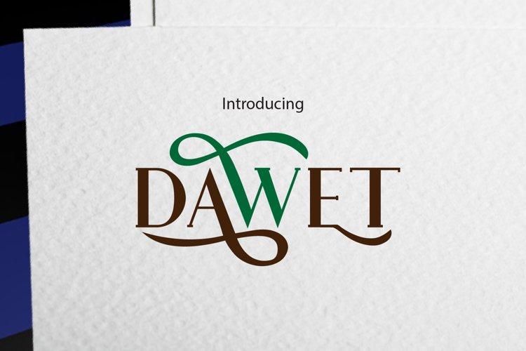 DAWET example image 1