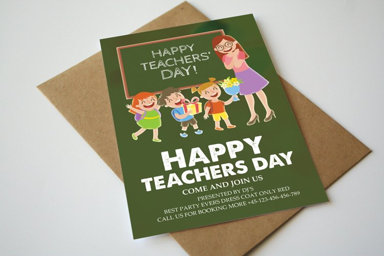 Teacher s Day Card example image 1